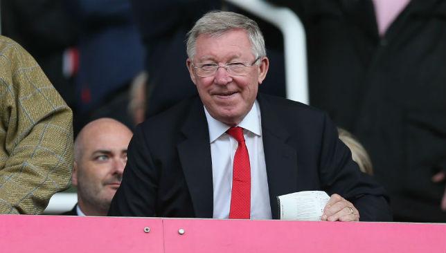 United legend: Sir Alex Ferguson.