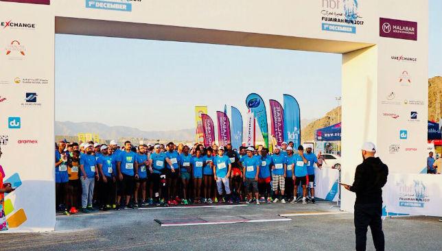 Startline NBF Fujairah Run 2017