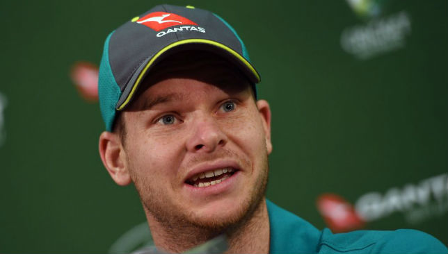 Addressing the media ahead of the second Test: Steve Smith