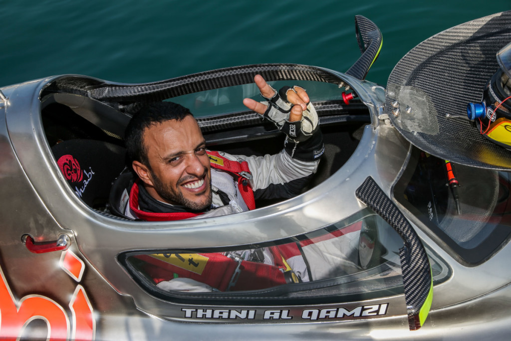 Thani Al-Qemzi will start from the 15th position on the grid.