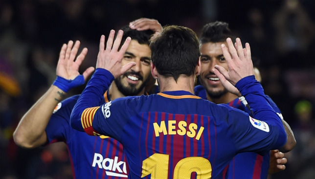 Messi, Suarez score as Barcelona win 3-0 before Coutinho's arrival