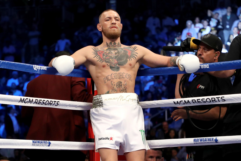 McGregor tasted defeat in the boxing ring, and a loss in the Octagon this year could follow.