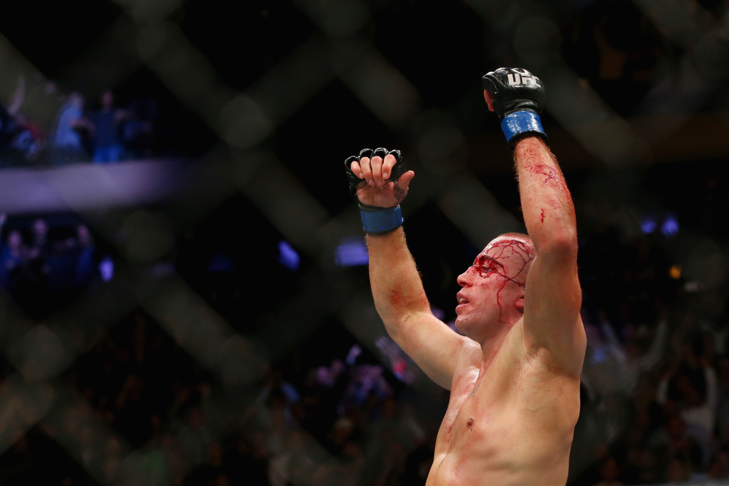 Is this the year Georges St. Pierre retires?