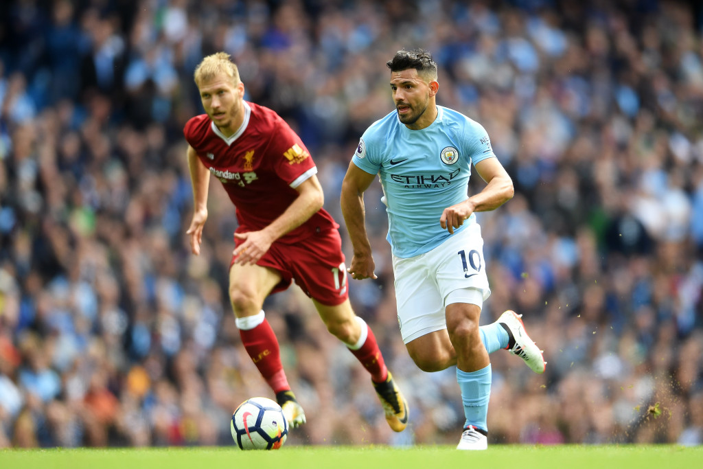 Aguero loves playing against Liverpool.