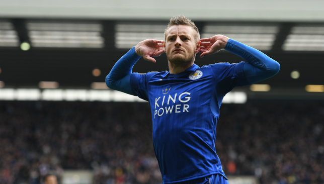 Jamie Vardy is 26 goals away from 100 in the Premier League.