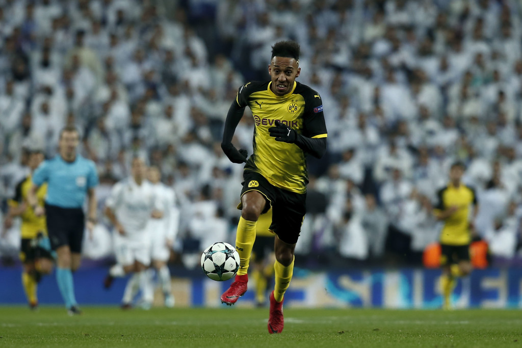 Aubameyang's Dortmund chapter looks like it's over.