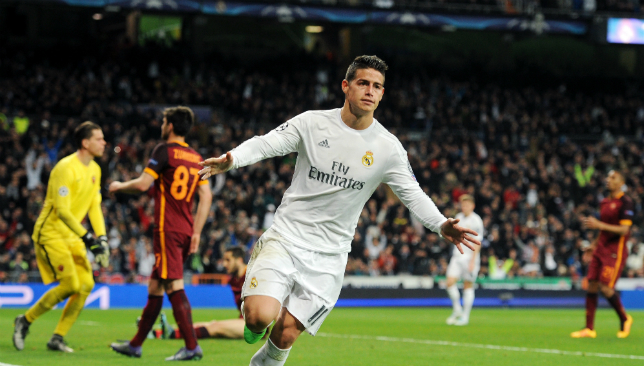Liverpool 'eyeing James Rodriguez swoop'