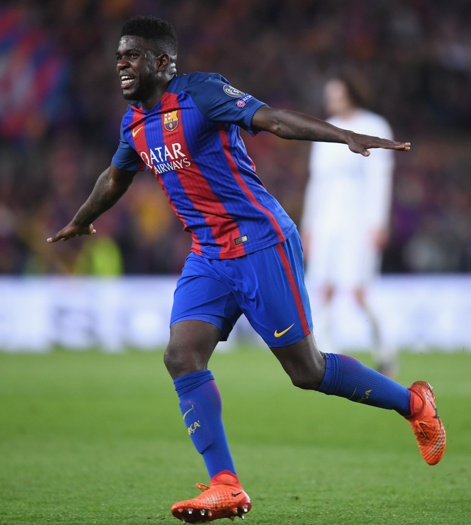 Barcelona want to make sure Samuel Umtiti is one of theirs for a long time.