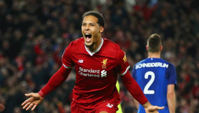 Virgil van Dijk, Jordan Henderson return to Liverpool training