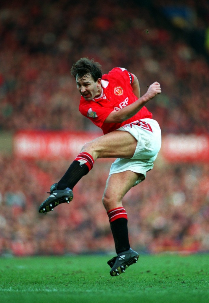Bryan Robson was the first great No. 7 of the modern era.