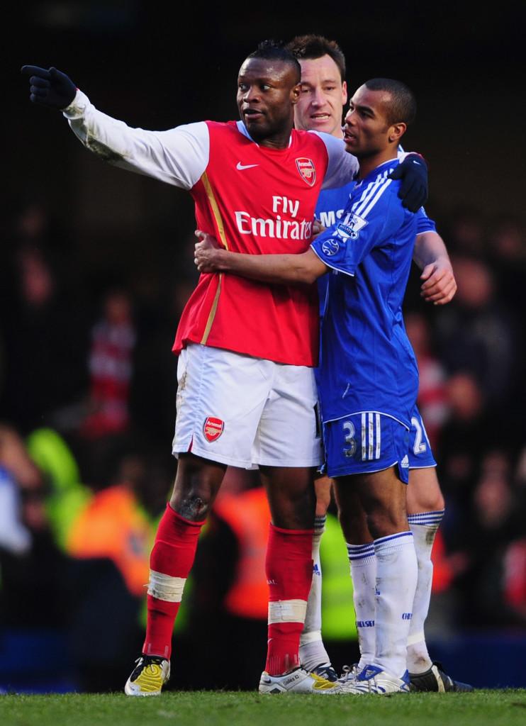 Cole and Gallas swapped in one of the most acrimonious transfers in history.