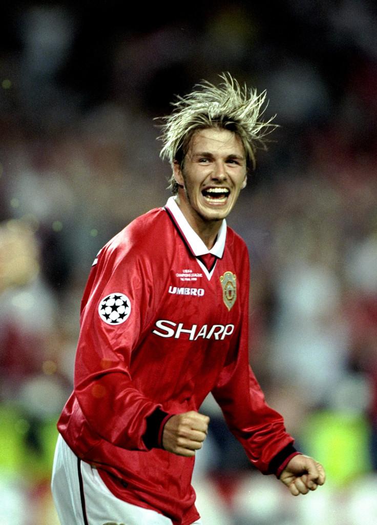 David Beckham made the No. 7 famous.