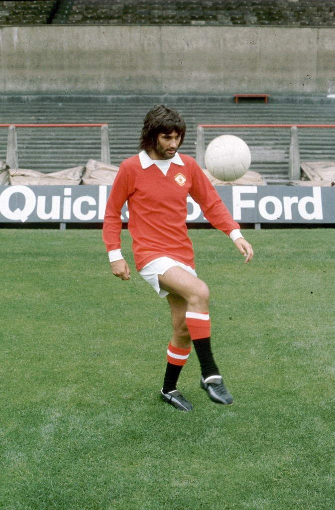 George Best wore No. 7 the night he led United to European Cup glory in 1968.