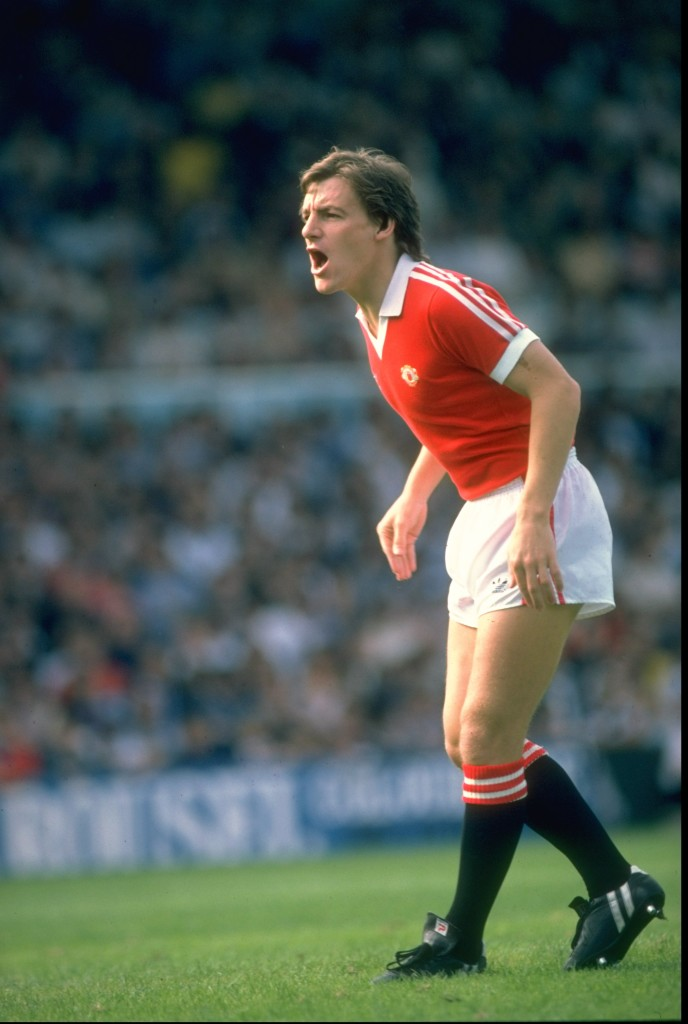 Steve Coppell wore the No. 7 with distinction.