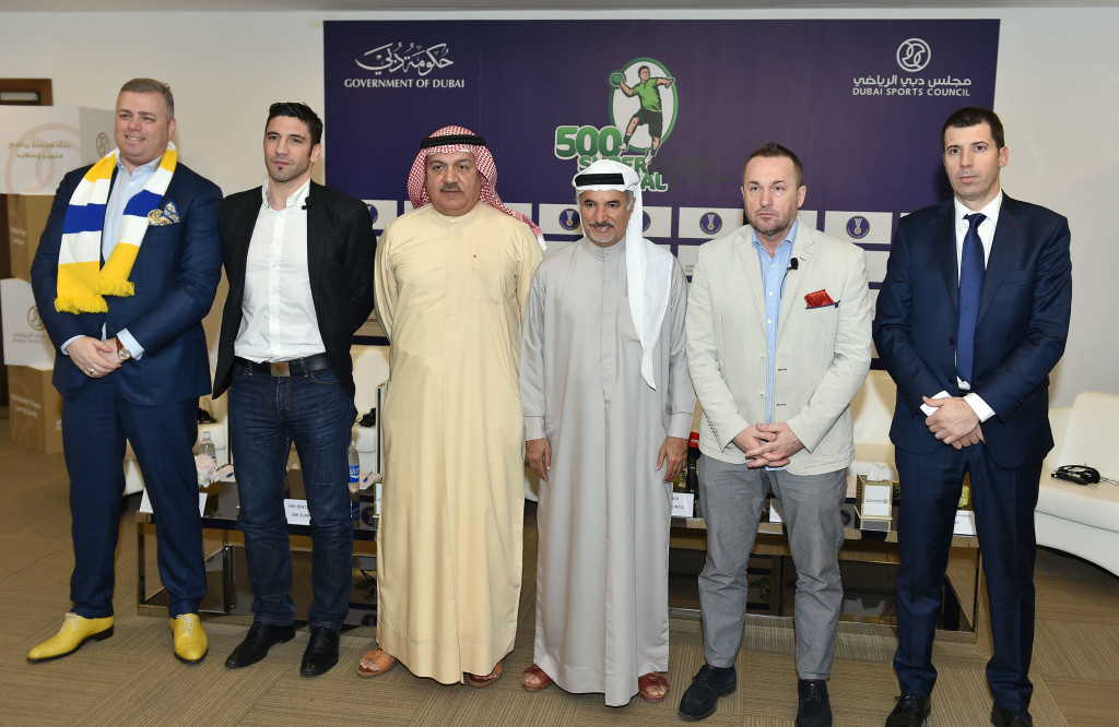 The Super 500 organisers hope to build grassroots interest in handball in the UAE.