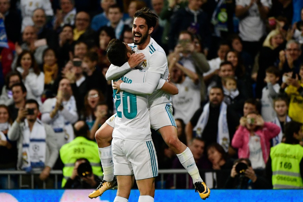 Real Madrid won't want to let go of Isco and Asensio.