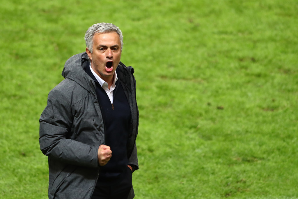 Mourinho has won 61 of his 99 United games, with the 100th coming up on Friday.