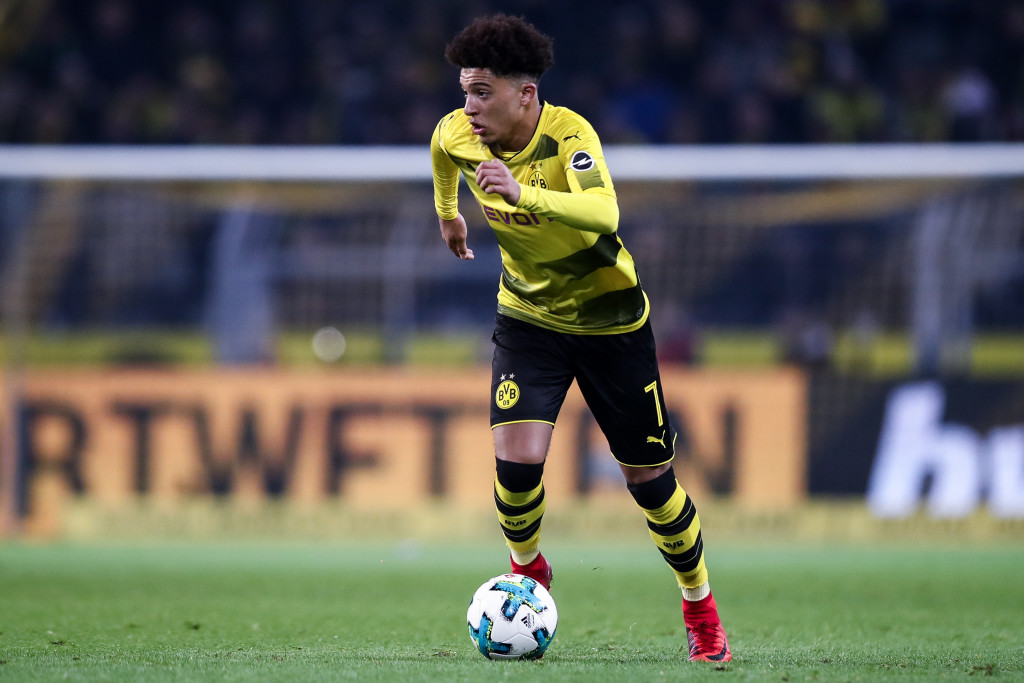 Jadon Sancho has impressed at Dortmund since moving form City.