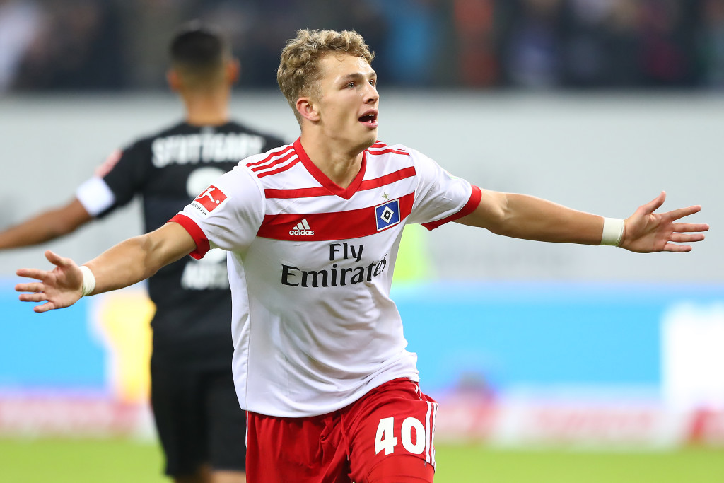 Jann-Fiete Arp starred at the U17 Euros last year, and has only gotten better.