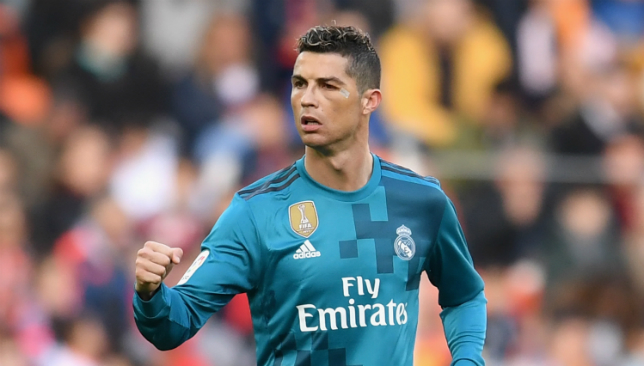 Ronaldo's brace of penalties led Madrid to victory.