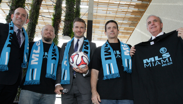 David Beckham seals Miami soccer deal after four-year battle