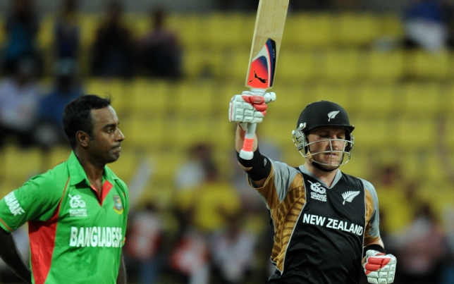 McCullum became the second man in history to hit a T20I ton.