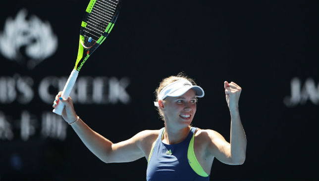 Caroline Wozniacki is second on the list.