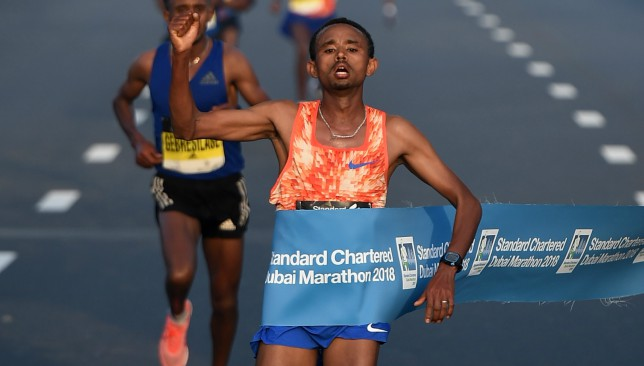 Clean sweep for record-breaking Ethiopians