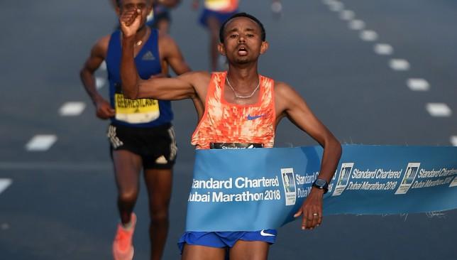 Seven finish under 2:05 as records fall at Dubai Marathon
