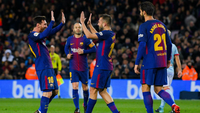 Messi shines again as Barca stroll into Cup quarters