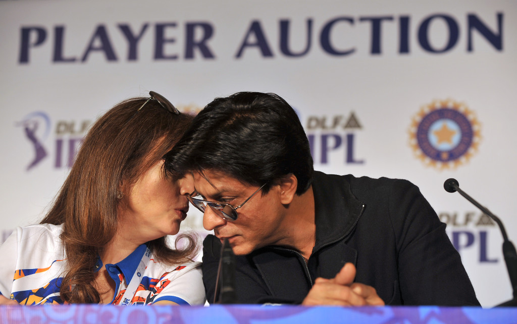 Owner of Mumbai Indians Neeta Ambani (L)