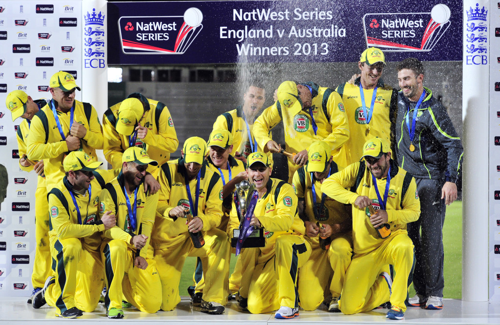 The Aussies had won the ODIs in 2013 after surrendering the Ashes.