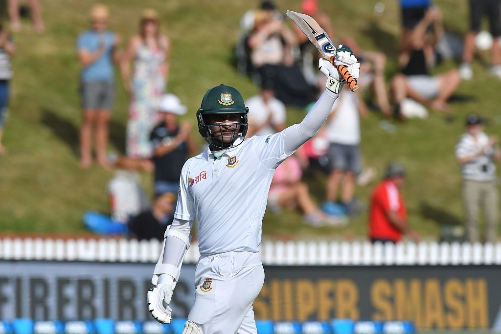 Shakib Al Hasan's double ton in the Wellington Test was pure class.