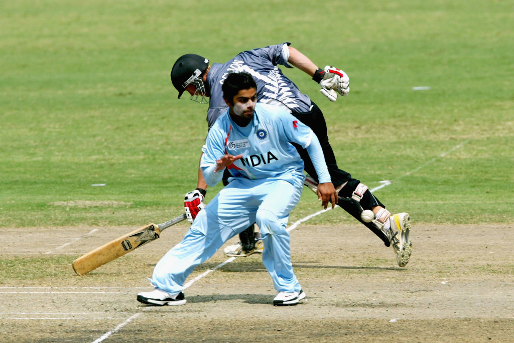 Kohli was the player of the match in the semi-finals against New Zealand.