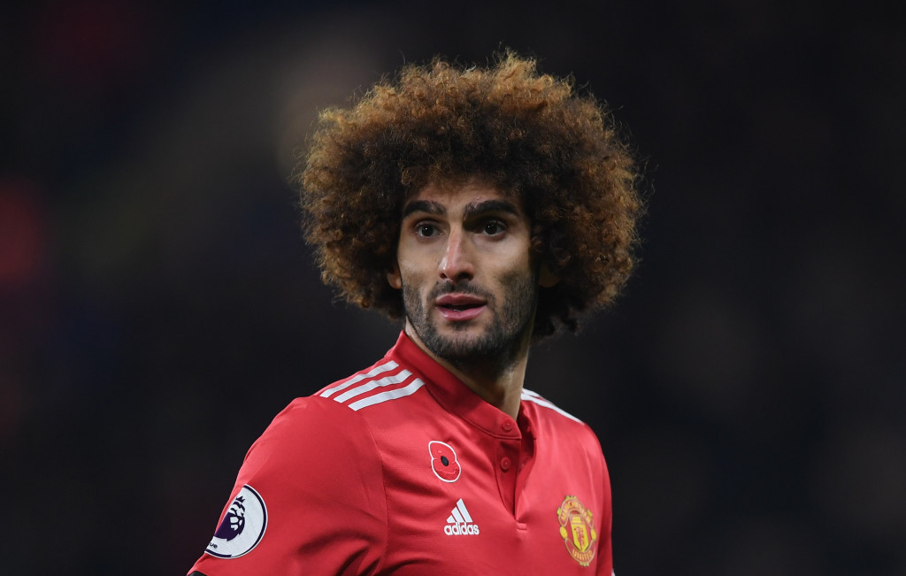 David and Goliath: Fellaini has been linked to West Ham