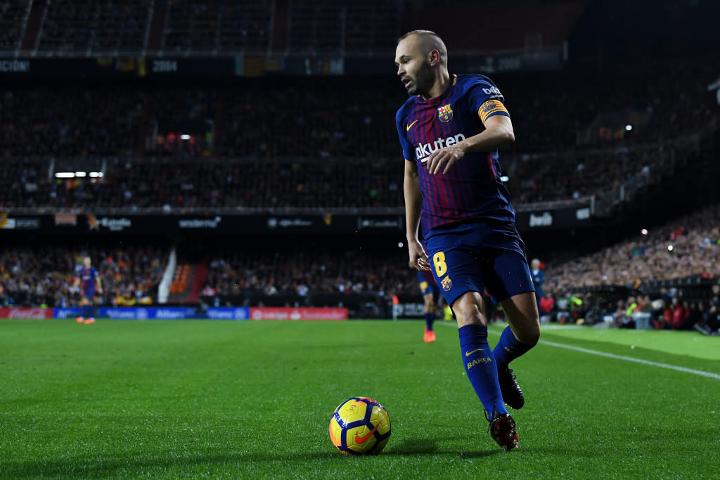 Heir to the throne: Andres Iniesta
