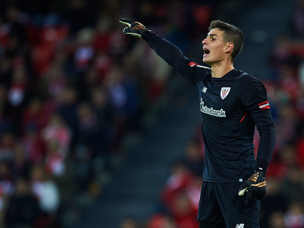 Madrid could splash the cash in January to secure Kepa's signature.