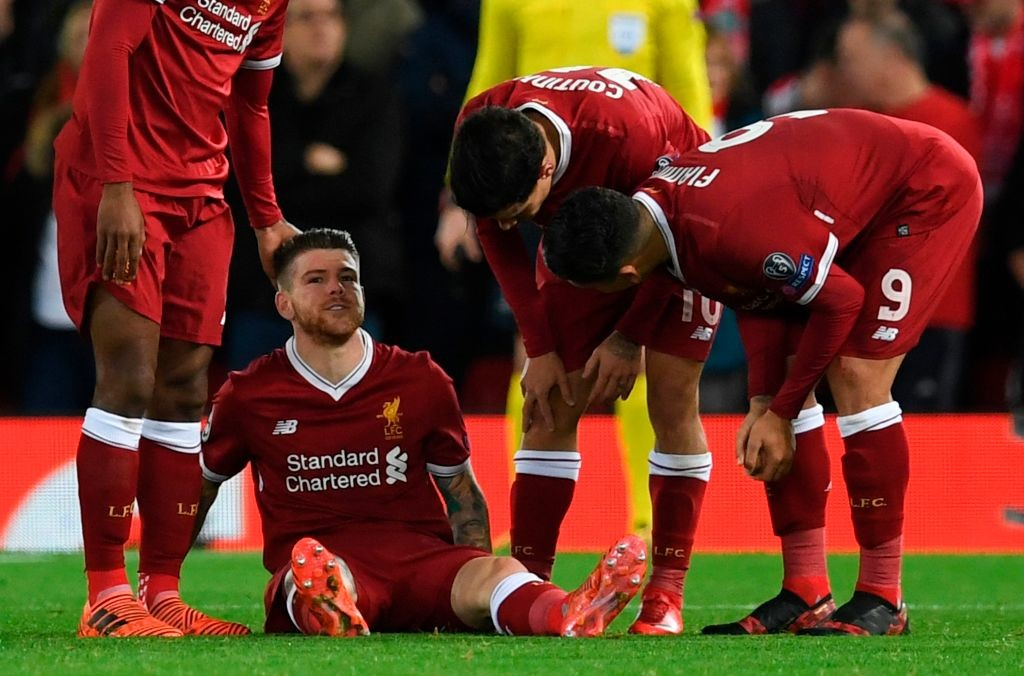 Moreno had suffered the injury during his side's win over Spartak Moscow.