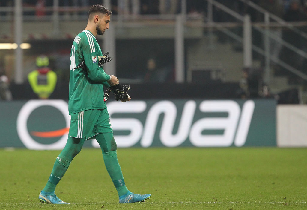 Donnarumma is one AC Milan player linked with a move away from the club.
