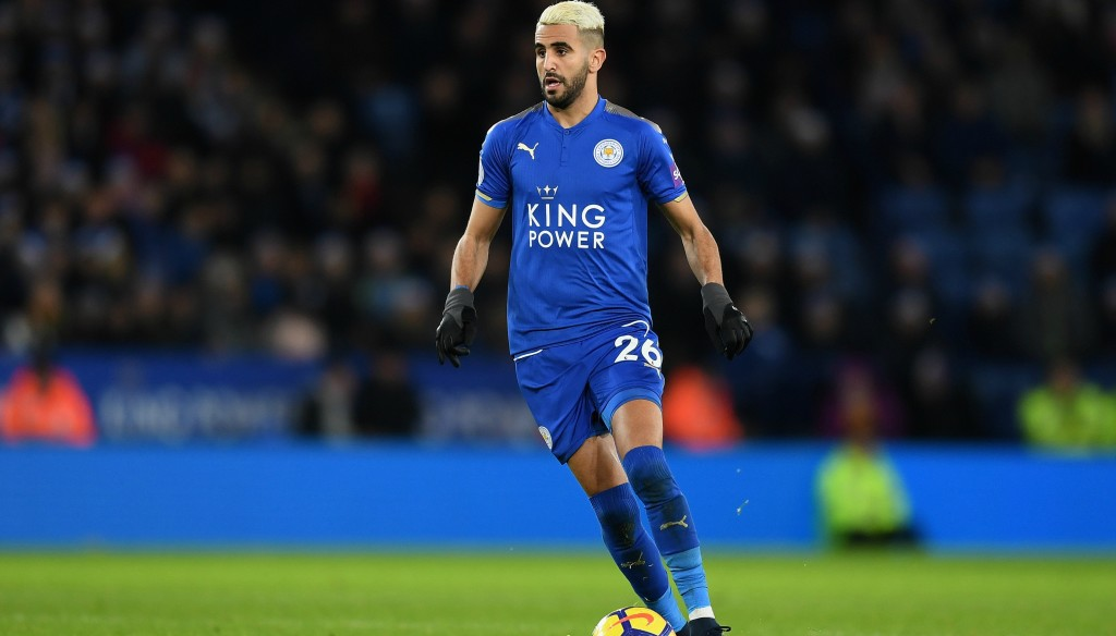 From blue to red? Leicester City's Riyad Mahrez