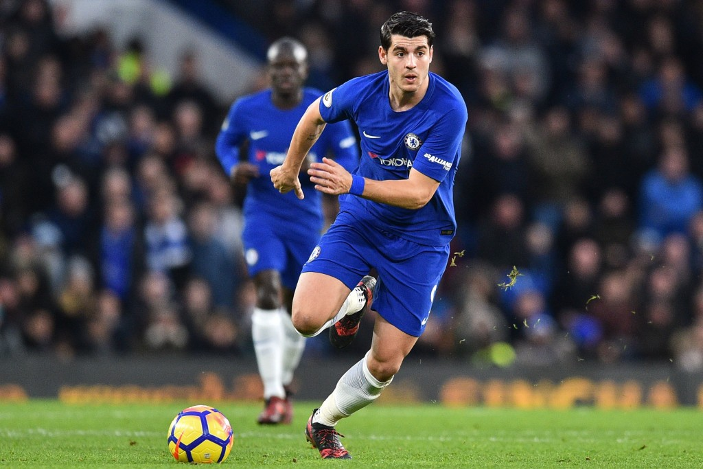 Alvaro Morata has scored 10 goals in the league this season