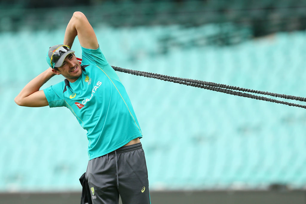 Starc has fully recovered and is raring to go.