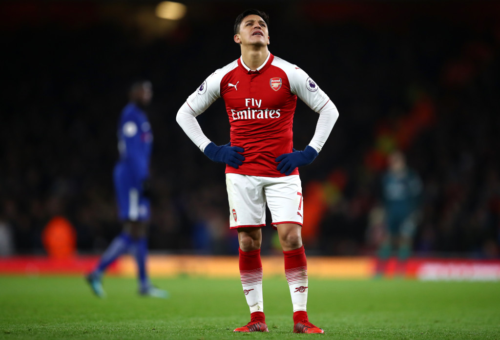 Ready to leave: Arsenal star Alexis Sanchez