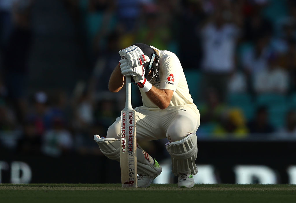 A picture speaks a thousand words for Joe Root.