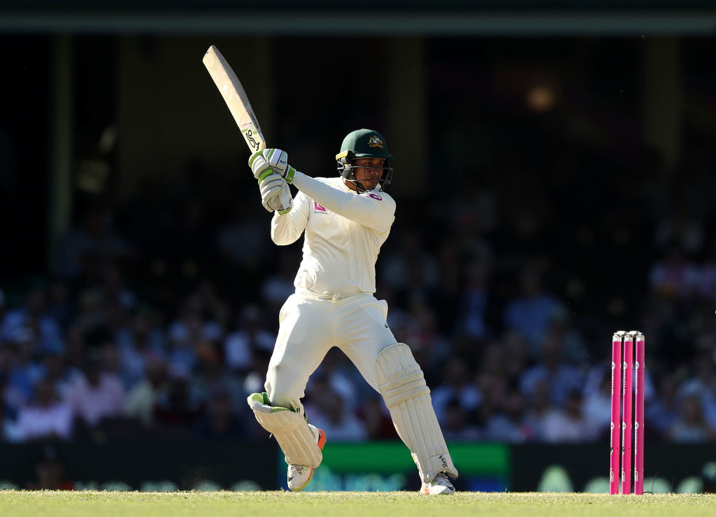 Khawaja is on course for his sixth Test century.