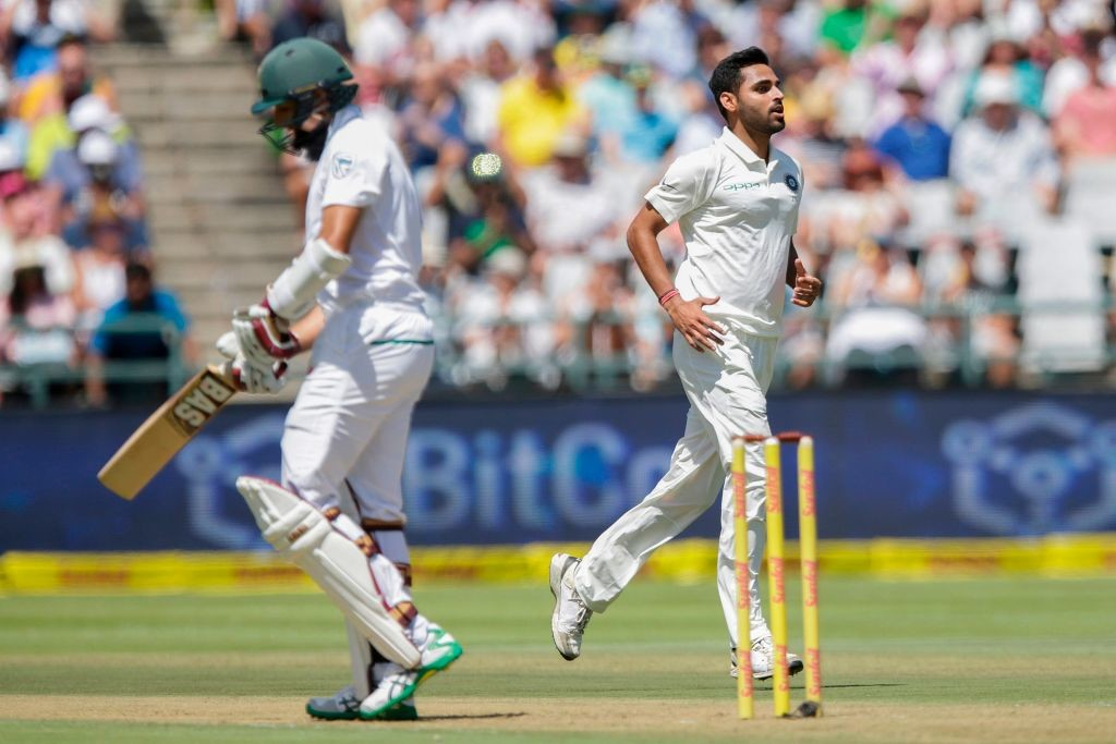 Bhuvneshwar picked up a six-wicket haul in the first Test.