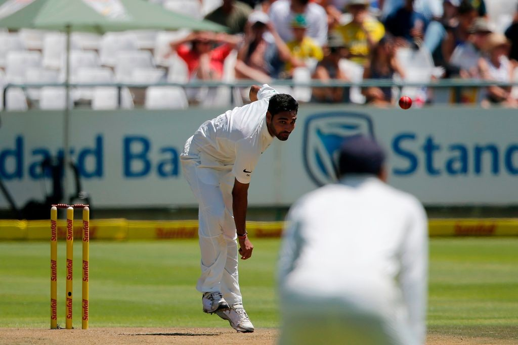 The Indian seamer was on the top of his game at Newlands.