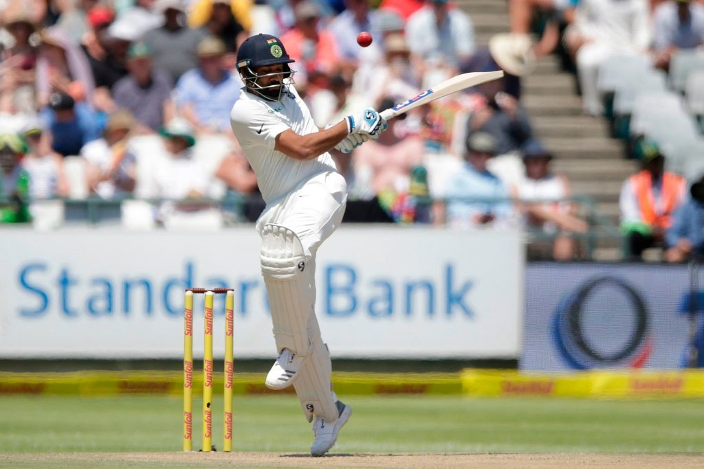 Sharma failed to get going at Newlands.