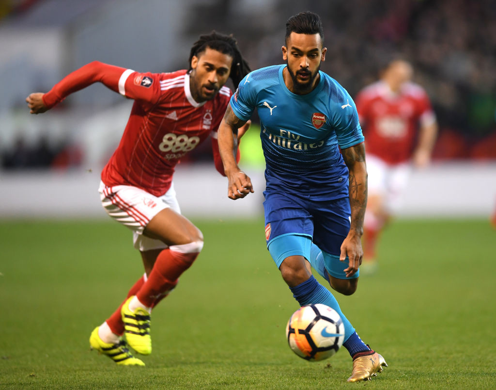 Walcott is on Southampton's radar.