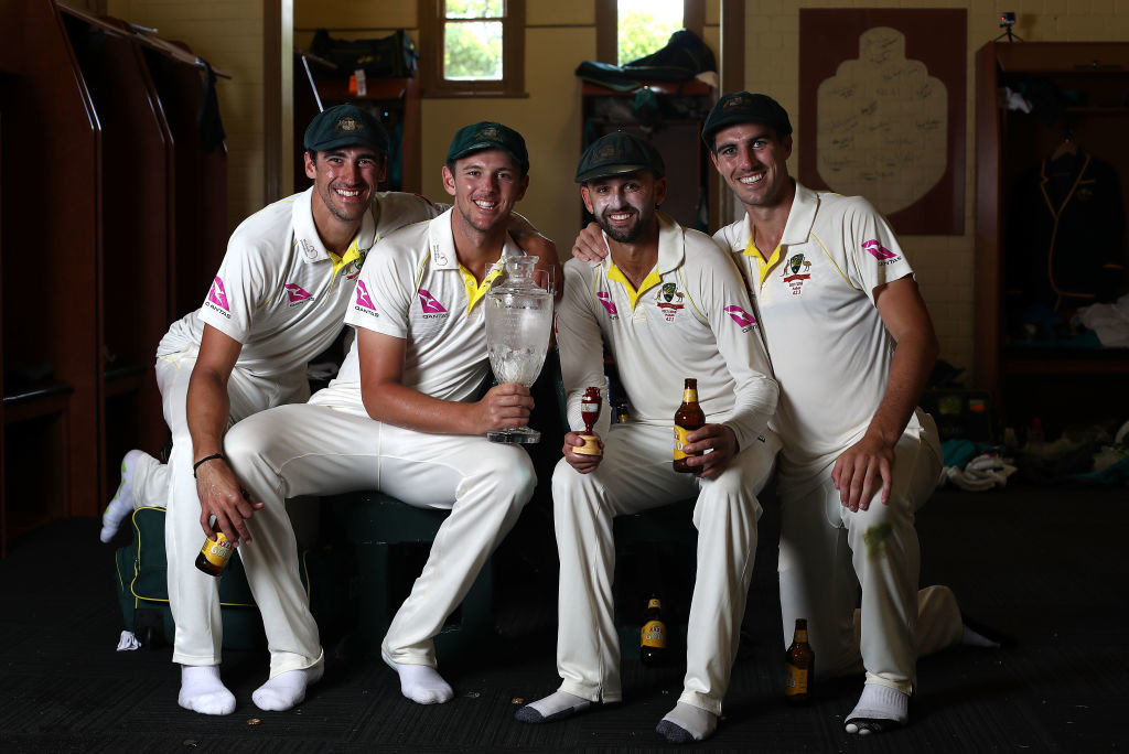 Cummins overshadowed his famed counterparts in the Ashes.